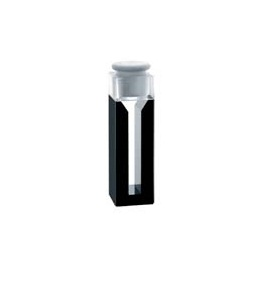 Semi-Micro Cell with Black Walls and Teflon Stopper (volum)