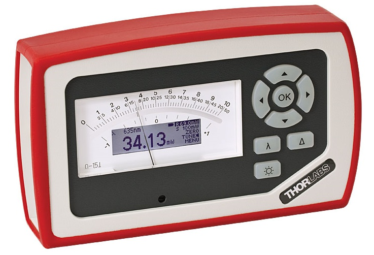 Analog Handheld Laser Power Meter Console