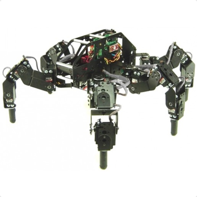 Lynxmotion T-Hex 4DOF Hexapod Robot Kit (Hardware Only)
