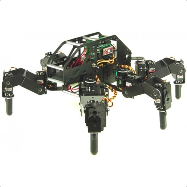 Lynxmotion T-Hex 3DOF Hexapod Robot Kit (Hardware Only)