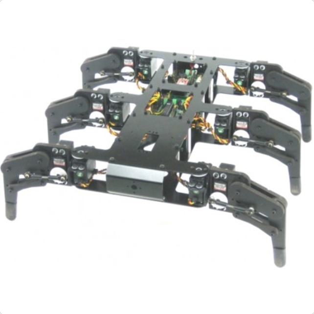 Lynxmotion AH2 Hexapod Robot Kit (Hardware Only)