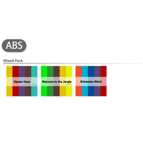 3D펜 ABS 재료 - Mix Color