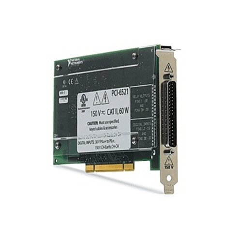 NI PCI-6521, 8 DI/8 DO