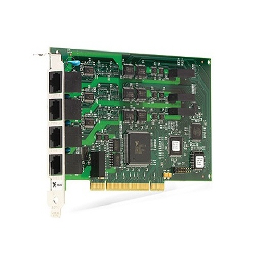 NI PCI-8432/4 (산업용 RS232), 1 Mbits/s