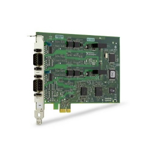 NI PCIe-8432/2 (산업용 RS232), 1 Mbits/s