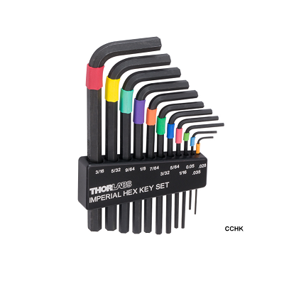 Color-Coded Hex Key Set
