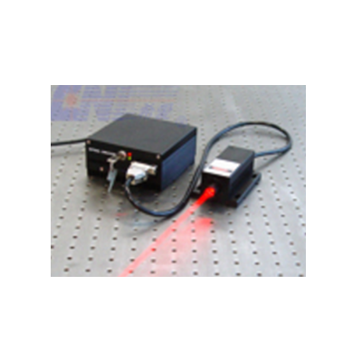 Low Noise Red Diode Laser at 680 nm