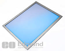 "1"" x 1"", ITO Coated EMI Shielded Plastic Window"