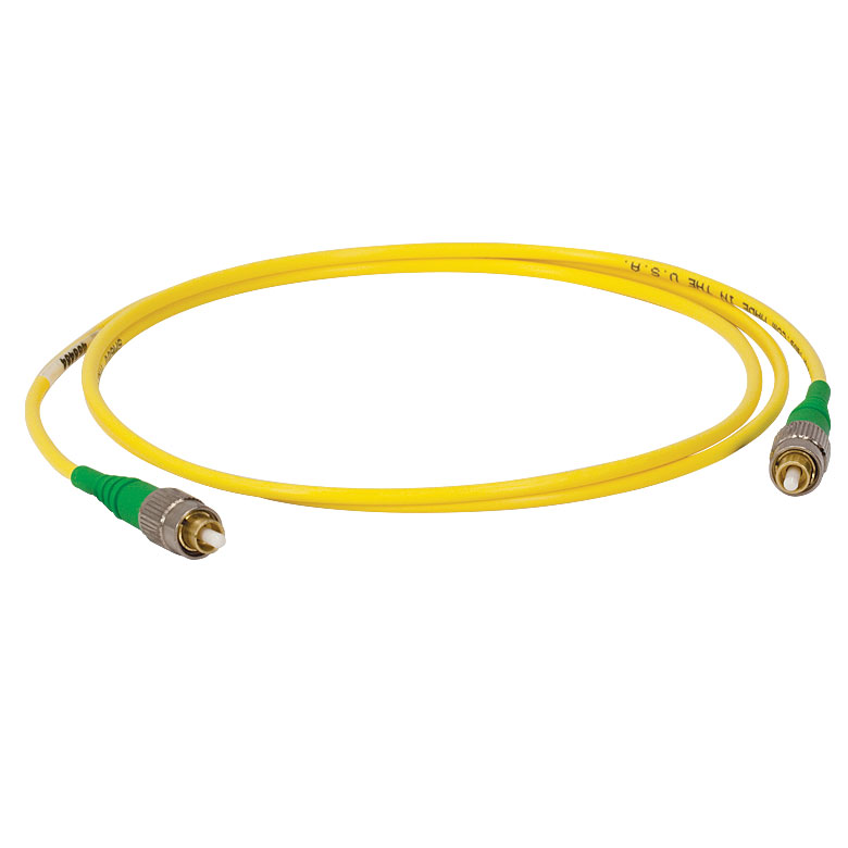 Single Mode Optical Fiber Jumper Code (FC/PC to FC/APC)