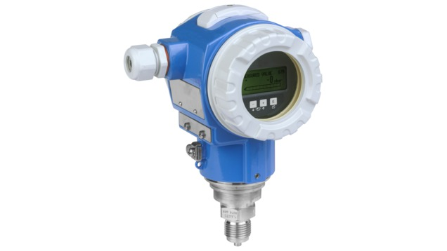 Digital pressure transmitter with welded metal sensor for measurement in gases, steam or liquids