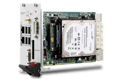 PXIe-63975 3U Intel® Core™ i5-520E 2.4 GHz Dual-Core Processor-based PXI Express Controller