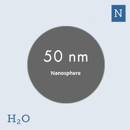 50 nm Platinum Nanoparticles (NanoXact)