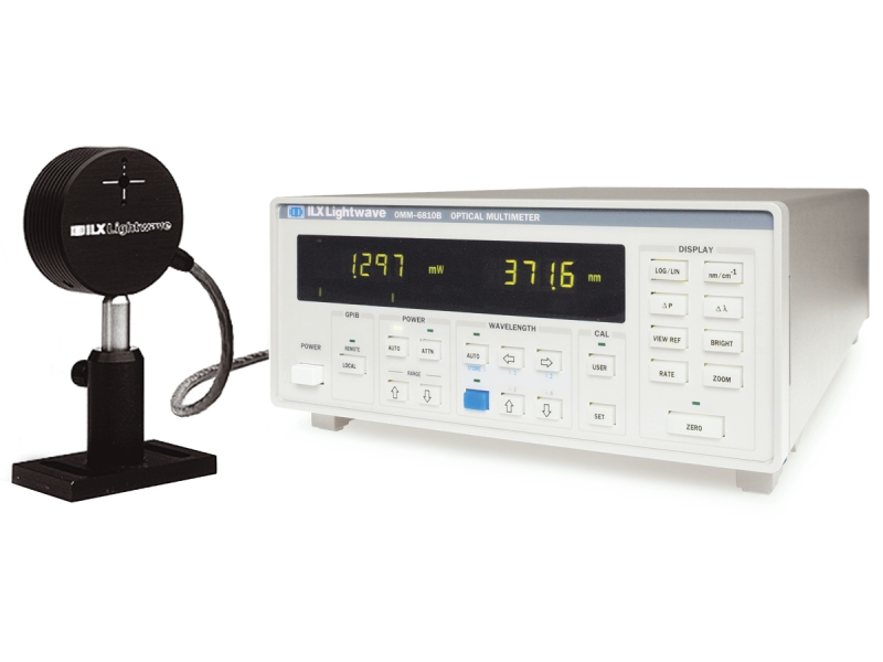 Optical Power and Wavelength Meter