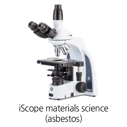 [iScope materials science (asbestos)] Industry Polarization microscopes 편광 현미경