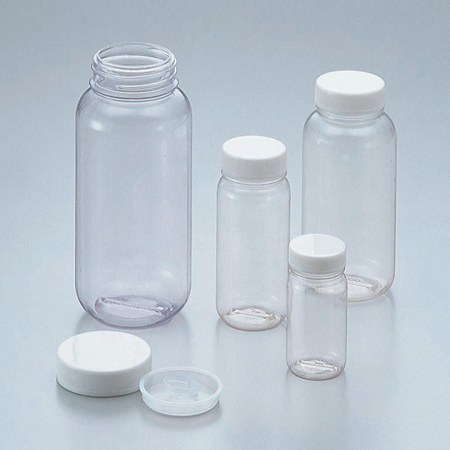 CLEAR BOTTLES PVC WIDE-MOUTH