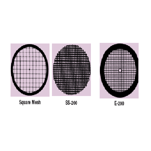 Veco Specimen Grids (Square Mesh with Center Reference)