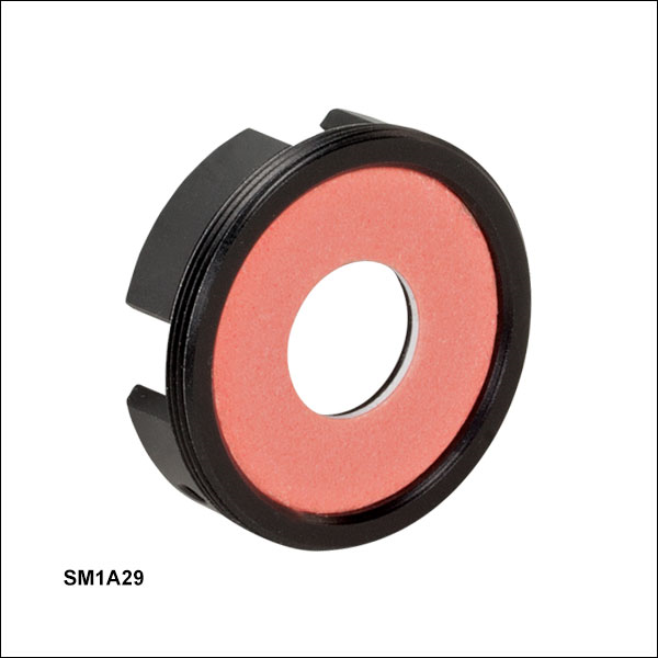 Externally SM1-Threaded Slim Photodiode Adapter