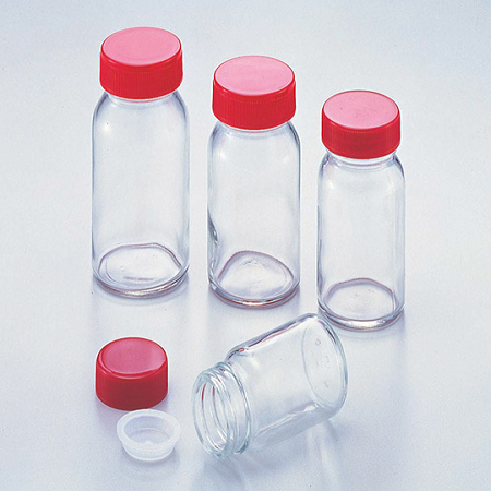 STANDARD BOTTLES GLASS CLEAR WIDE MOUTH