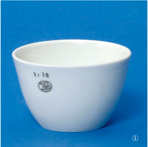Porcelain Crucible, 자제 도가니