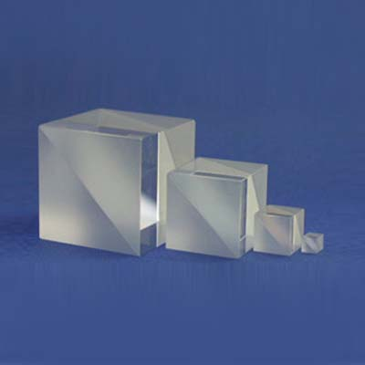 Cube Beam Splitter, Metallurgical Coating type