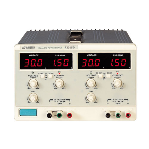 DC Power Supply -   Dual output Digital display models