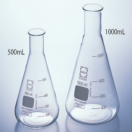 DURAN FLASK GLASS ERLENMEYER