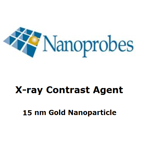 Gold Blood Pool X-ray Contrast Agent (15 nm, 5 Vials)
