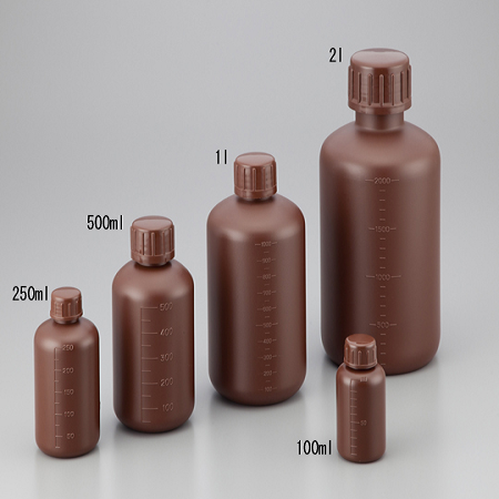 BOTTLES HDPE SHIELD NARROW-MOUTH