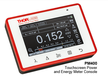 Touchscreen Power Meter Console with Multi-Touch