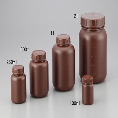 BOTTLES HDPE SHIELD WIDE-MOUTH