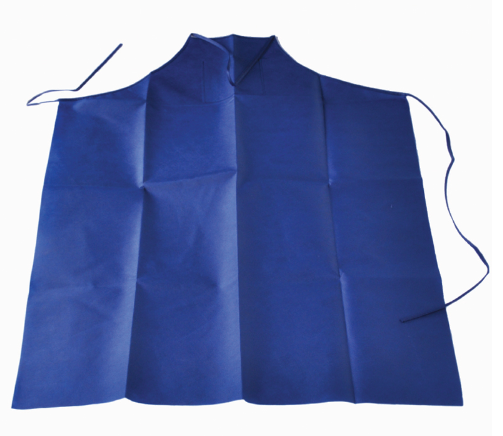 Poly-vinly Coated Apron, Disposable