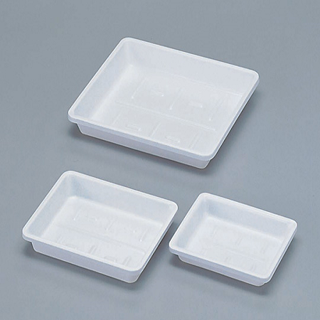 TRAYS HIGH IMPACT PS