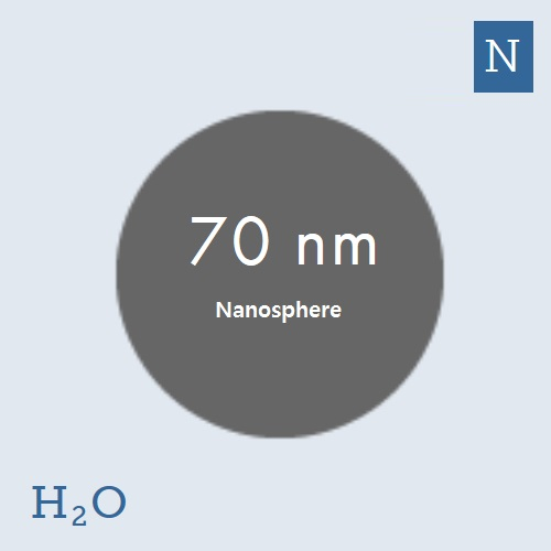 70 nm Platinum Nanoparticles (NanoXact)