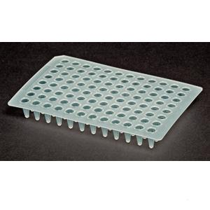 96 Well Clear, Flat Top PCR Microplate
