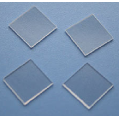 BaTiO3 (100) 10 x10 x 1.0 mm, 2SP, Substrate grade(with domains)