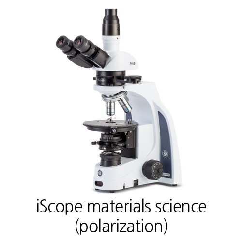 [iScope materials science (polarization)] UNIVERSITY Polarization microscopes 편광 현미경