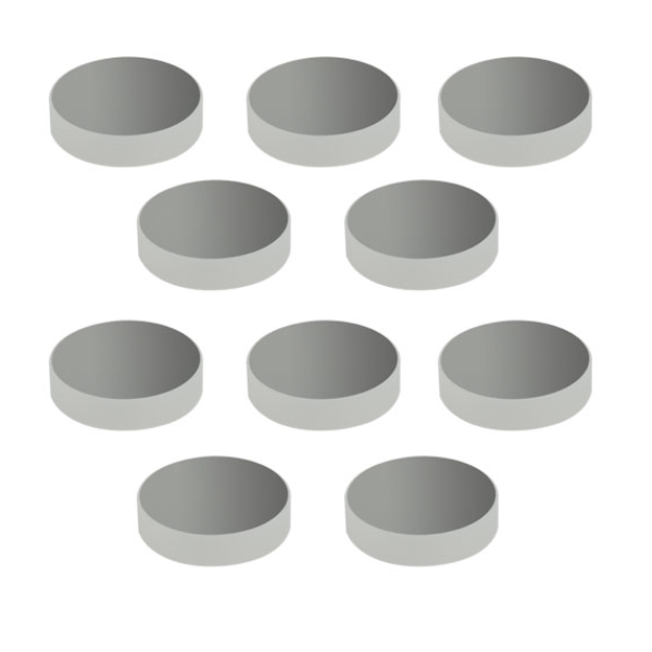 Packages of 10 Protected Silver Mirrors