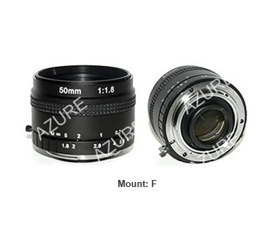 F-mounted line scan lens