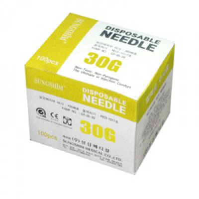 Disposable Needdles (일회용 주사침)