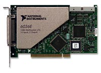 NI PCI-6062E E Series Multifunction DAQ